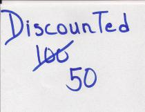 Tired of being discounted?